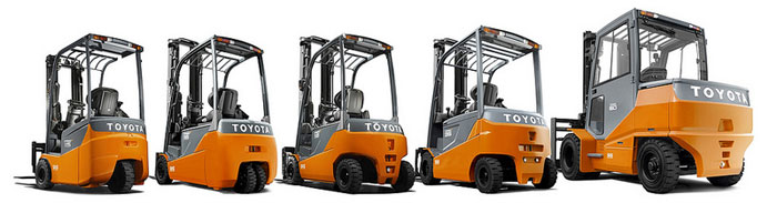 Different types of counterbalance forklifts